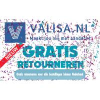 Valisa.nl voert gratis retourneren in  binnen Nederland