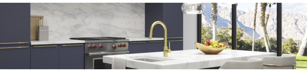 Trends 2020 - Gouden kraan voor je badkamer of keuken
