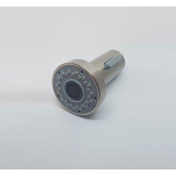 Modern Geborsteld nikkel ABS kunststof vervanging handdouche dubbele sproeier