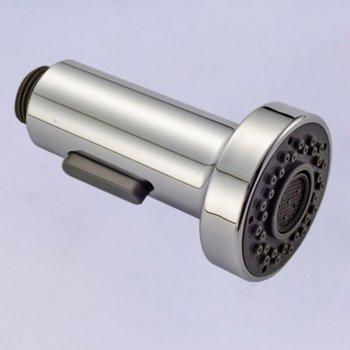 Modern gepolijst chroom ABS kunststof vervanging handdouche dubbele sproeier