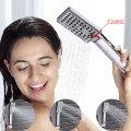 Douchepaneel mengkraan met handdouche en temperatuurscherm