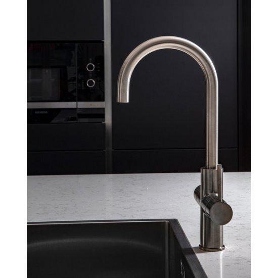 ACE Boil 3 in 1 kokend water kraan - keukenkraan + boiler - Rond  - RVS