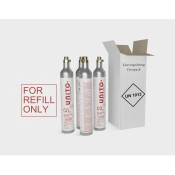 4 Pack Koolzuur CO2 Cilinders REFILL