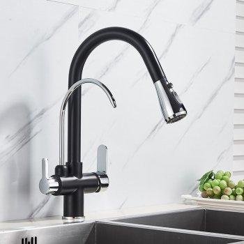 Moderne keuken mengkraan met aansluiting filter drink water