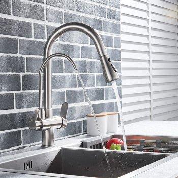 Moderne keuken mengkraan met aansluiting filter drinkwater