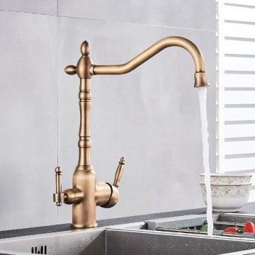 Klassieke Waterfilter Keuken Kraan Dual Uitloop aansluiting filter drinkwater