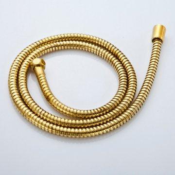 Gouden douche slang flexibele 1.5M