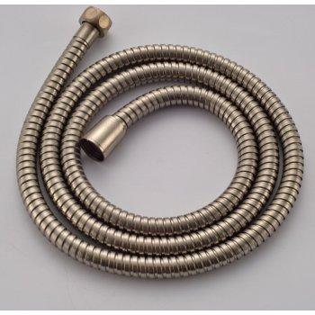 Douche slang geborsteld nikkel flexibele 1.5M