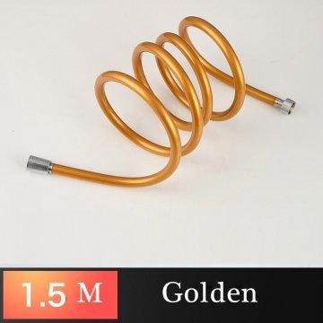 Douche slang PVC gouden flexibele 1.5M