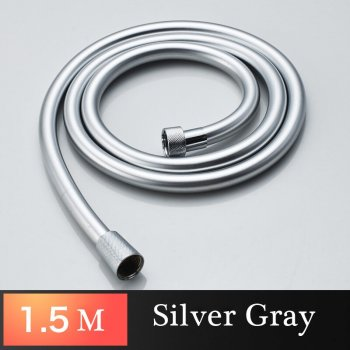 Douche slang PVC chroom flexibele 1.5M