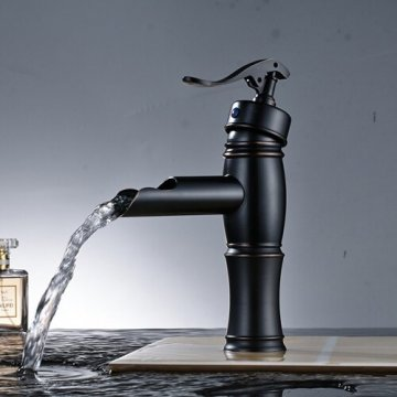 Kwaliteit design Wastafel mengkraan Zwart Brons